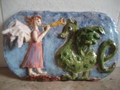 Ангел с драконом